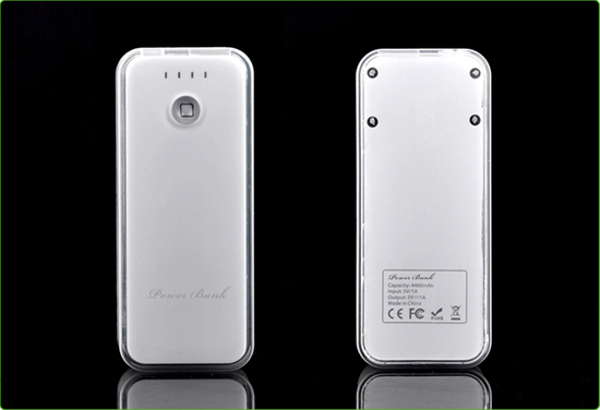 5200mah Power Bank With Acrylic Case Vp025