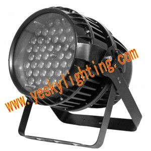 54 3w Rgbw Led Waterproof Zoom Par Light Yk 227