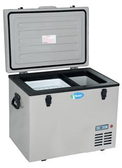 55 Litres Dc Solar Portable Car Fridge Freezer