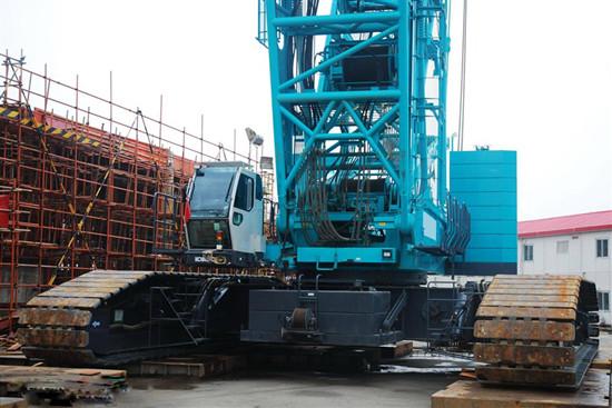 550 Ton Used Kobelco Crawler Crane