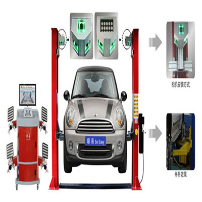 5d Wheel Alignment For Two Post Car Lift 618a Hot Sale In 2016