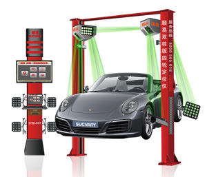 5d Wheel Alignment For Two Post Car Lift 618t