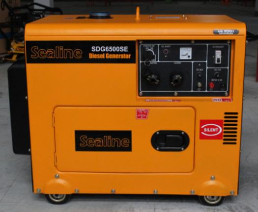 5kw Silent Type Diesel Generator In Sale