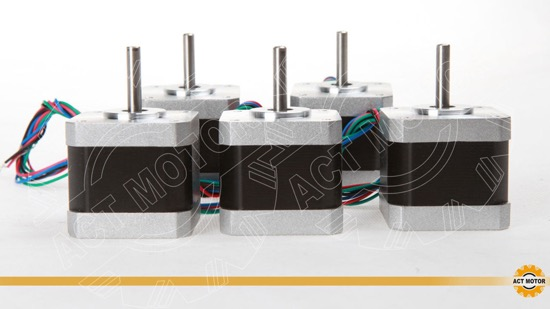 5pcs Act Nema17 Stepper Motor 17hs5412 3