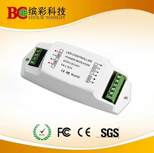 5v 12v 24v 3ch Rgb Power Repeater