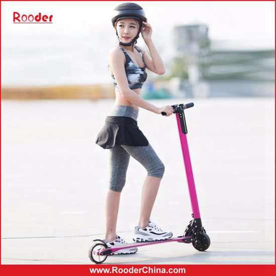 6 3kg Only The Lightest 2 Wheel Carbon Fiber Folding Electric Scooter Rooder