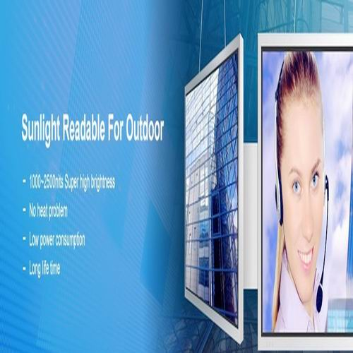 6 To 65inch Sunlight Readable Open Frame Lcd Displays For Outdoor Kiosk Digital Signage