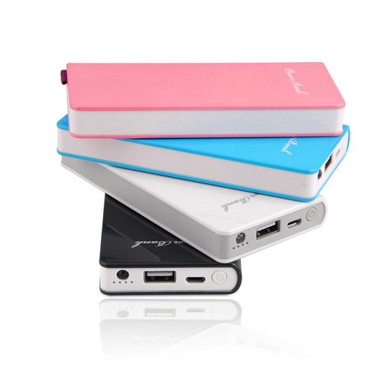 6000mah Slim Power Bank With 2 1a Output Vp164