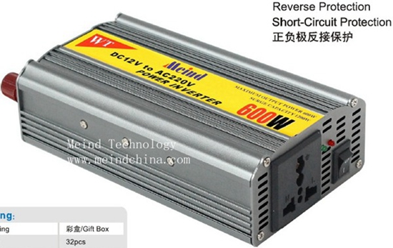 600w Power Inverterpower Supply Watt Inverter Car Charger