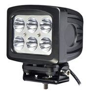 60w 10 30v Square Cree Led Work Off Road Driving Light