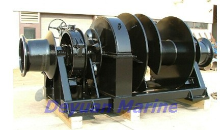 62kn Electric Anchor Windlass Authorized Mooring Classification