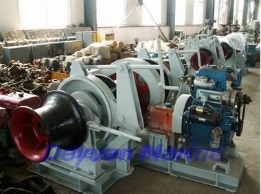 68kn Hydraulic Anchor Windlass