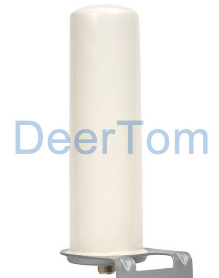 698 2700mhz 4g Lte Outdoor Omni Directional Fiberglass Antenna Post 5dbi N Female