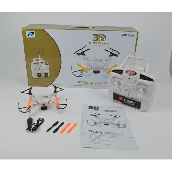 6axis 4channel 2 4ghz Remote Control Drone