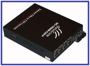 6port Sfp Media Converter Fiber Switch