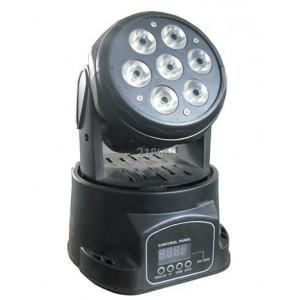 7 12w Led Moving Head Light Mini