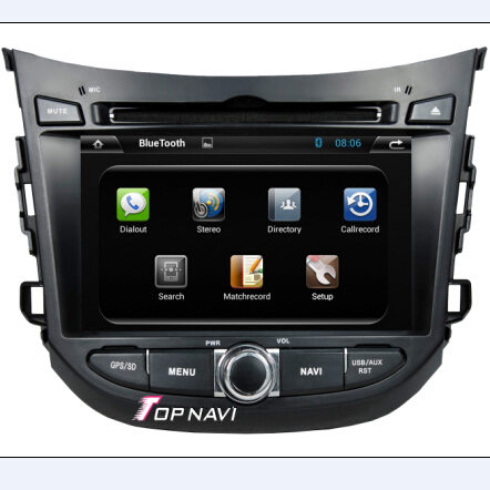 7 Inch Capacitive Multi Touch Screen With Gps Tv Ipod Radio Bt 3g Wifi