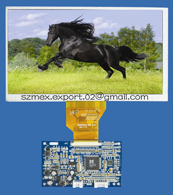 7 Inch Digital Tft Lcd Display Small With Pcb Board