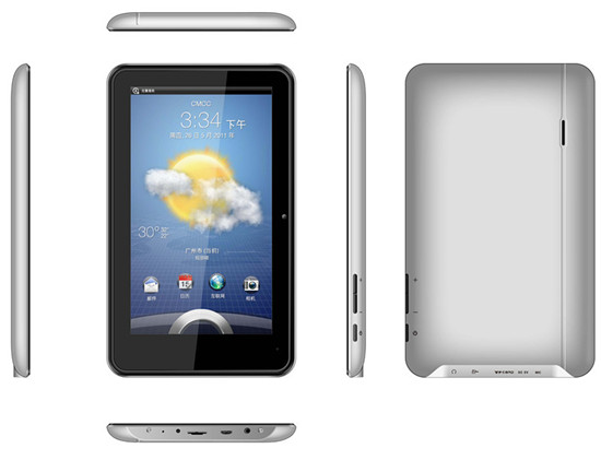 7 Inch Tablet Pc With Andriod System 4 0 3