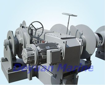 70kn Hydraulic Anchor Windlass And Mooring Winch