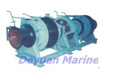 76kn Electric Anchor Windlass And Mooring Winch Motor Certificated