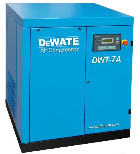 7hp 8bar Dewate Atlas Copco Screw Air Compressor Ce Mark