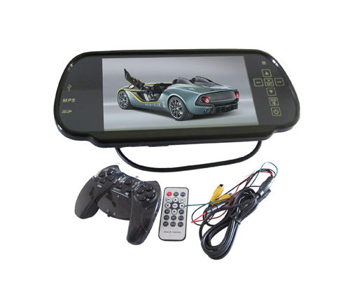 7inch Tft Lcd Car Monitor With Mp5 Game Pad