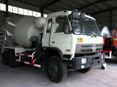 8 Cbm Concrete Mixer Truck