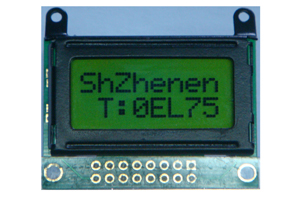 8 Charactersx2 Lines Lcd Display Module Cm802 1