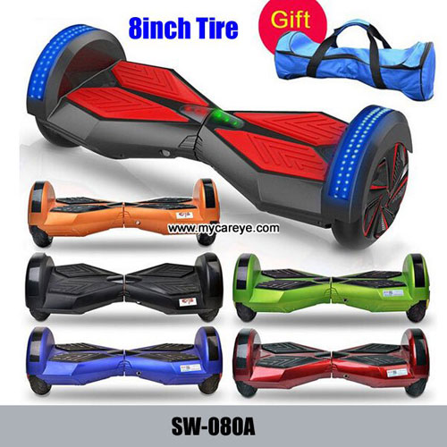 8 Pulgadas Mini Auto Equilibrado Coche De 2 Ruedas Vespa Inteligente Bluetooth El Ctrico