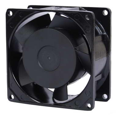 80 38mm Ac Cooling Fan Axial Sleeve Bearing Two Ball