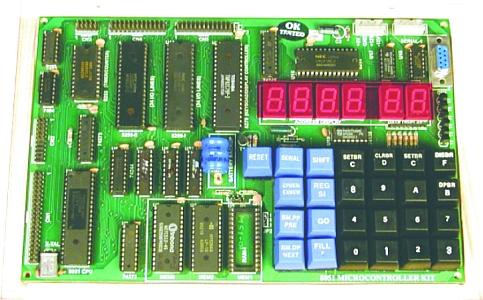 8051 Microcontroller Trainer Tla805