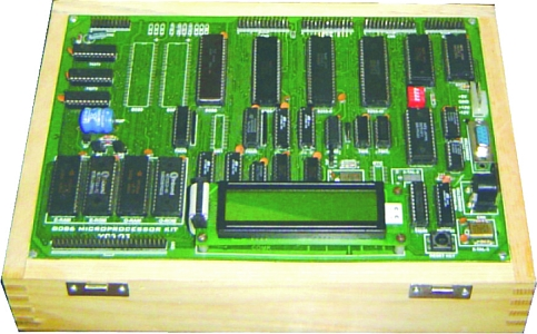 8086 Microprocessor Trainer With Lcd Tla804