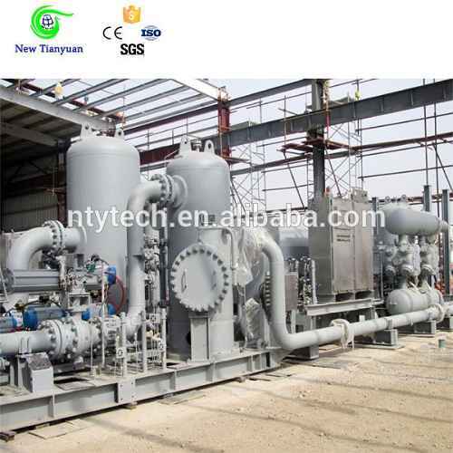 8500nm3 H Displacement 0 8mpa Suction Puressure Ethane Gas Booster Compressor
