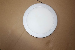 8inch Led Panel Light Round Shape Ra 80 Lm 75 85lm W