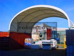 8m Wide Container Shelter Tent Tc2620c Tc2640c