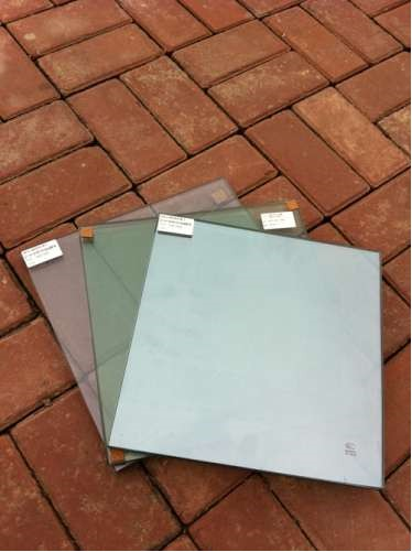 8mm Low E Coated Heat Reflective Safety Glass For Curtain Walls