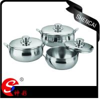 8pcs Stainless Steel Casserole Set