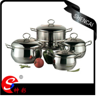 8pcs Stainless Steel Cookware Sets Multifunctional Good Kitchen Ware