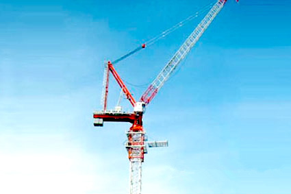8t Luffing Tower Crane
