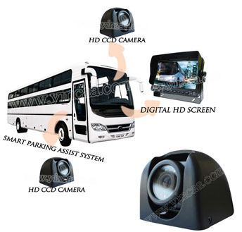 9 Inch Rear View Monitor Camera System