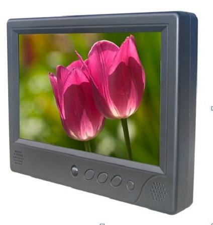 9 Inch Taxi Headrest Lcd Advertising Player From China