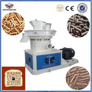 90kw Low Consumption Wood Mill Pellet Machine