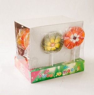 92 3d Flowers Net Weight 110gr Display Fruit Flavour