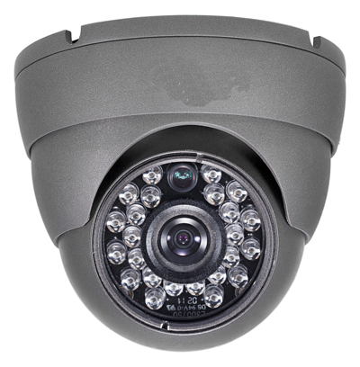 960h Vandal Proof Ir Dome Camera