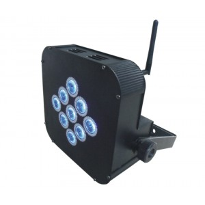9pcs Rgbw 4 In1 Led Par Battery Light