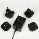 9v1 6a Power Adapter With Exchangeable Plugs For International Universal