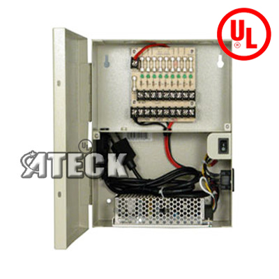 A Ul List Cctv Power Distribition Box