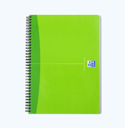 A4 Kraft Paper Sprial Notebook
