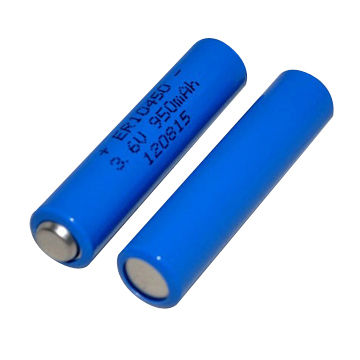 Aaa 3 6v Lisocl2 Battery Er10450 750mah Lithium Thionyl Chloride For Toy High Quality